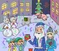Графика Номинация «Новогоднее настроение!»_8